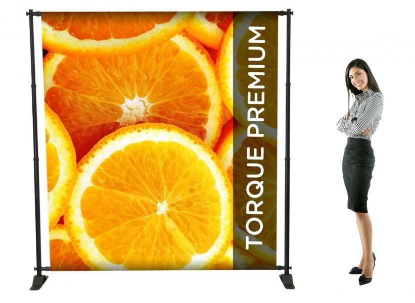 Tension Backdrop Banner Stand Torque